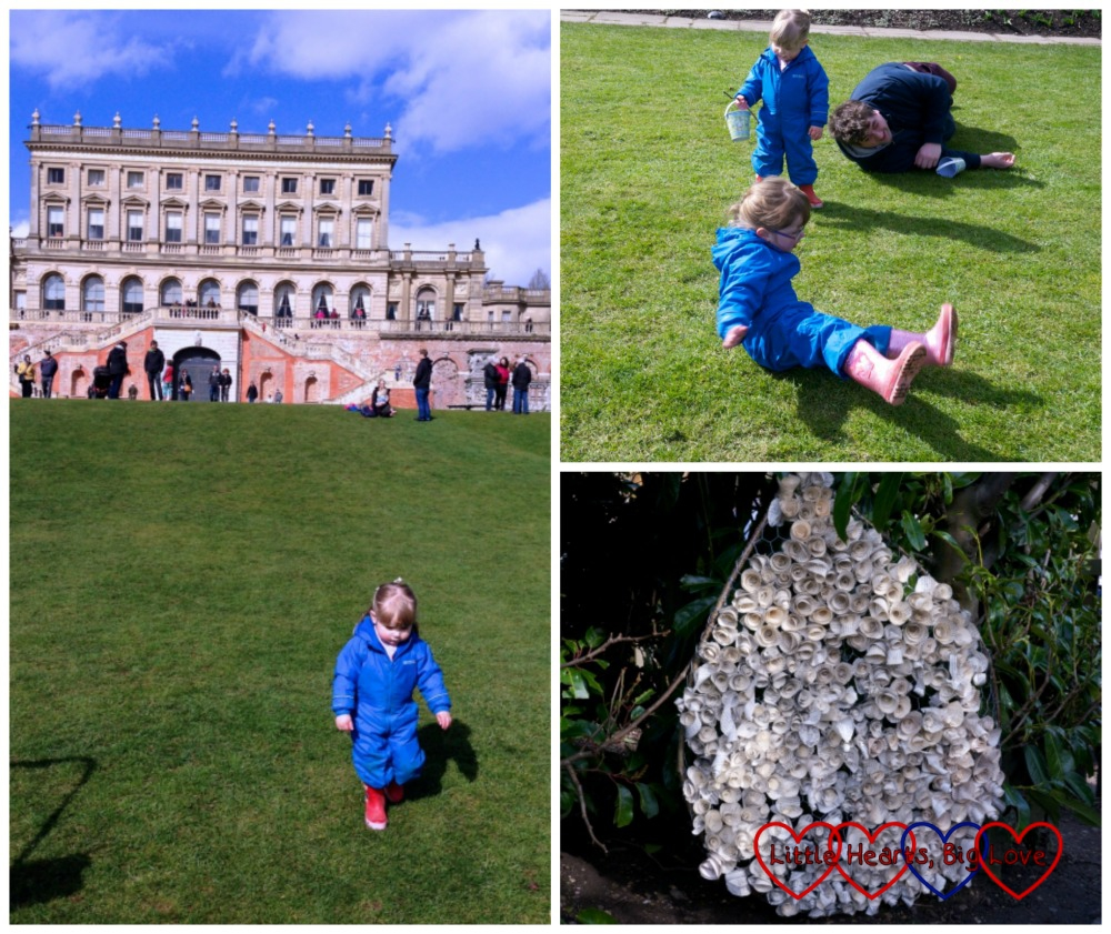 Hunting for Easter eggs at Cliveden - Little Hearts, Big Love