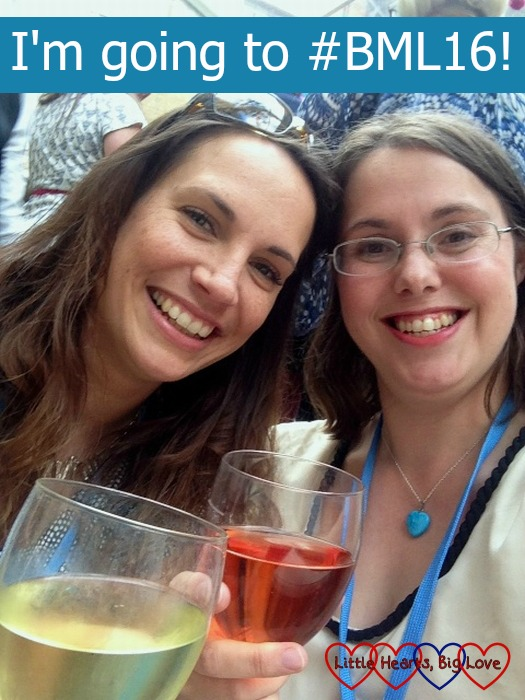 With the lovely Mel from Le Coin de Mel at last year's Britmums - I'm looking forward to catching up with other bloggers at this year's #BML16