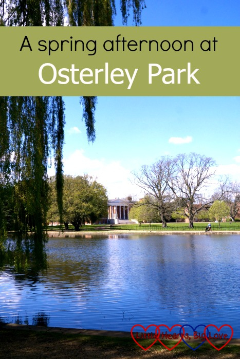 Enjoying the sunshine and spending an afternoon exploring Osterley Park