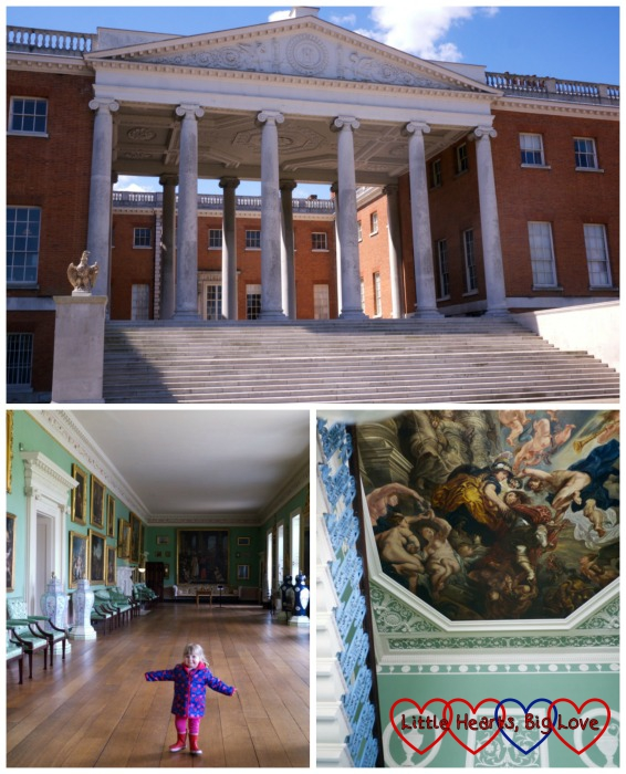 Visiting the house on a day out at Osterley Park