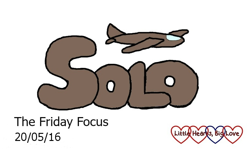 """It's been another week of flying solo for me - this week's word of the week is """"solo"""""""