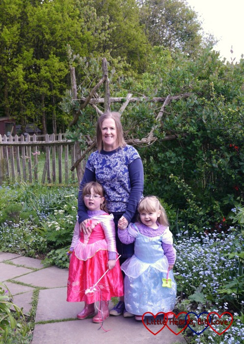My gorgeous girlies enjoying the Enchanted Museum event with godmummy Katy