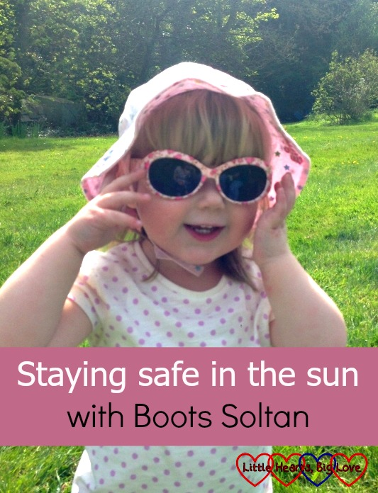 Sun cream, sunglasses and staying in the shade - tips on how to stay safe in the sun using an online resource from Boots Soltan
