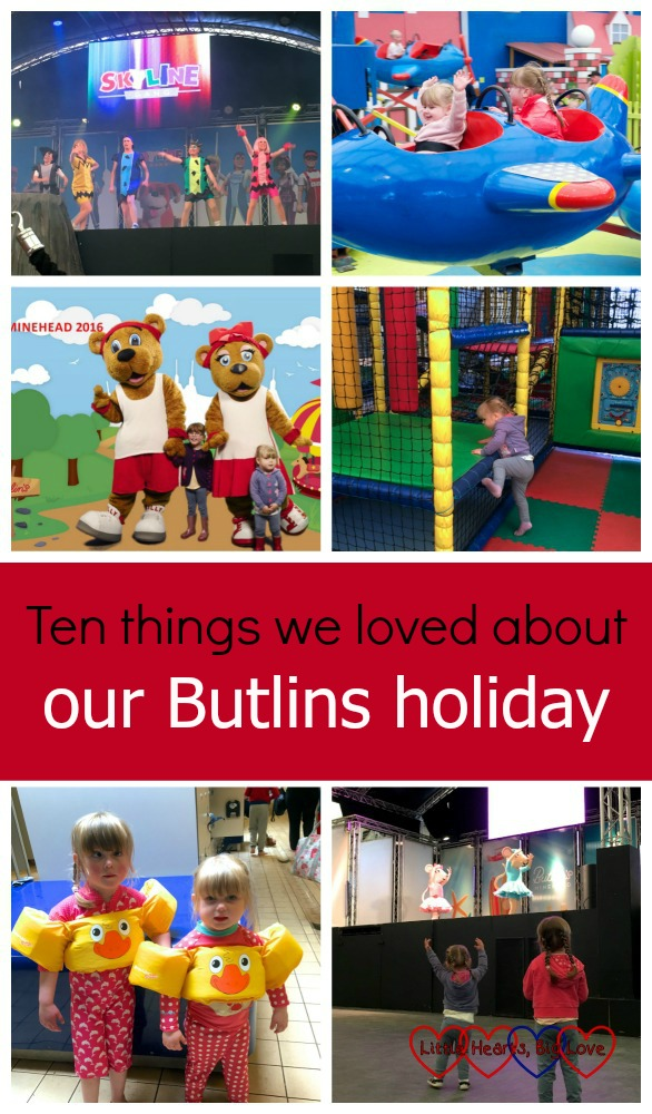 Sharing ten things that we loved from our recent holiday at Butlins
