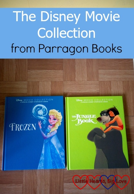 Frozen and The Jungle Book - our first two titles in the Disney Movie Collection from Parragon Books
