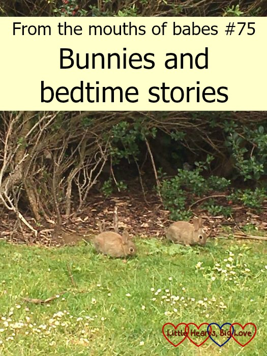 Bunnies and bedtime stories - this week's #ftmob moments