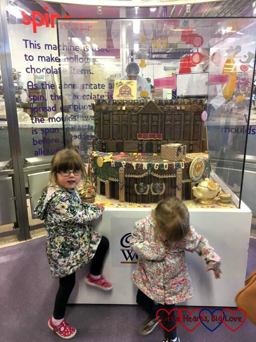 Buckingham Palace recreated in chocolate at Cadbury World