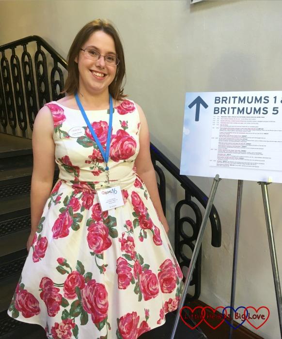 Wearing my pretty dress at #BML16