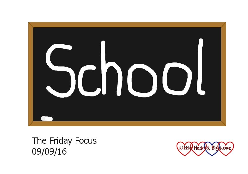 School - this week's word of the week