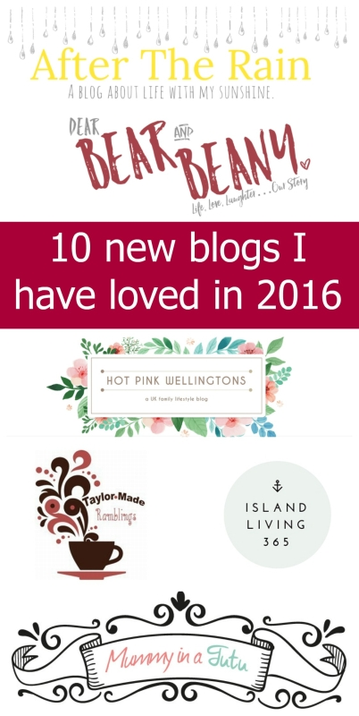 My top 10 blogs that I discovered for the first time in 2016