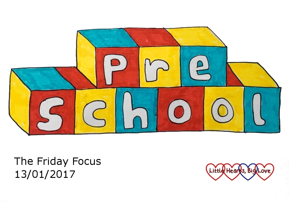 Preschool - this week's word of the week