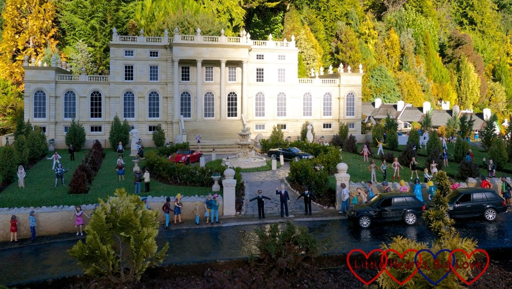 The Celebrity Mansion at Babbacombe Model Village