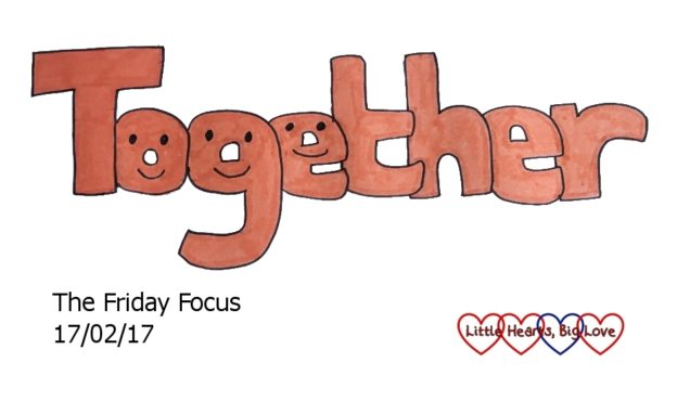 Together - this week's word of the week