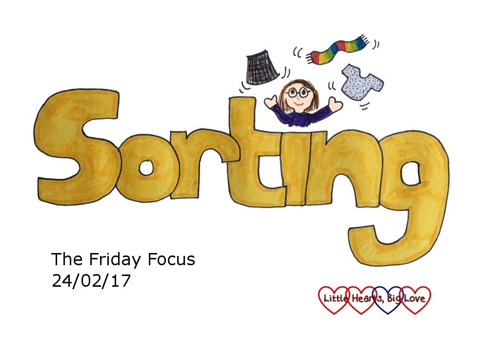 """""""Sorting"""" - this week's word of the week"""