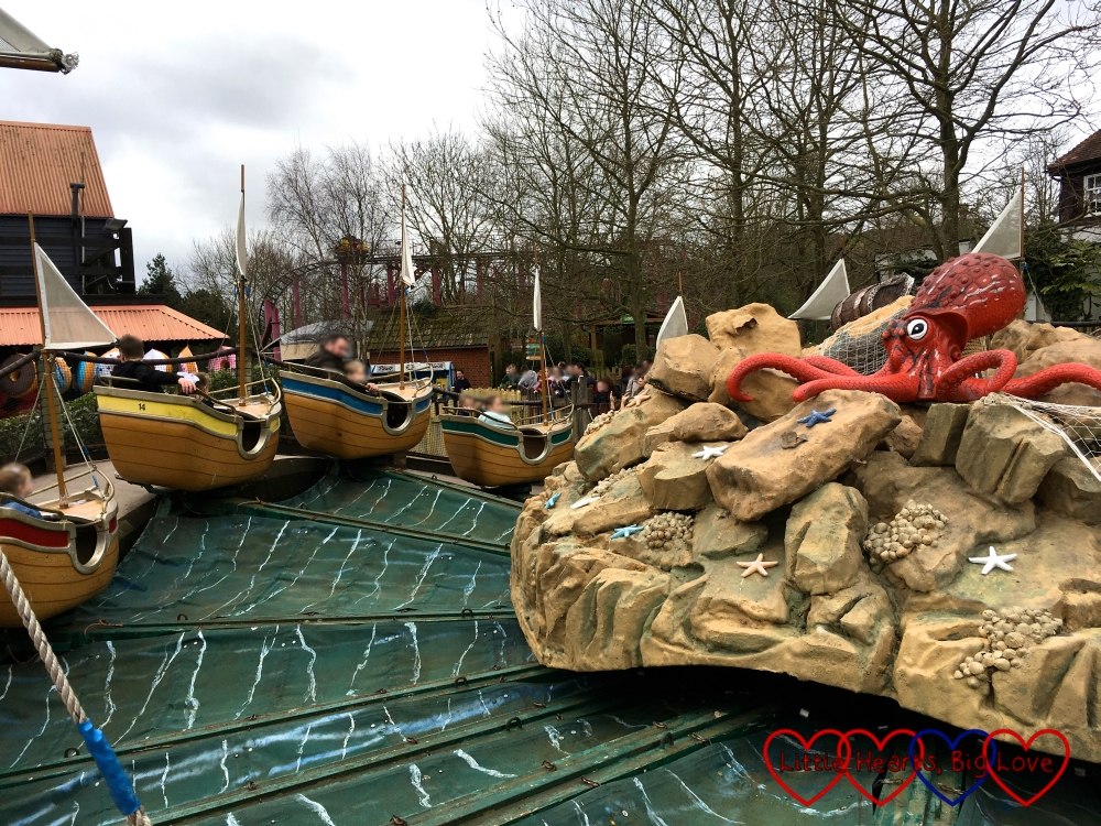 The Seastorm ride at Chessington World of Adventures