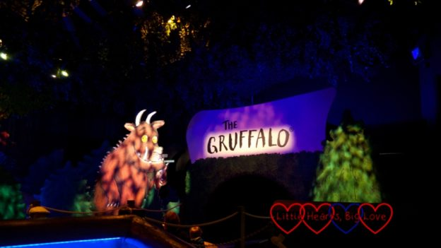 The entrance to the Gruffalo River Ride Adventure
