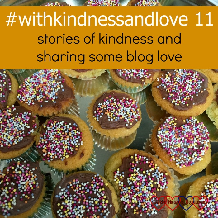 "A tray of chocolate jazzy cupcakes - ""#withkindnessandlove - stories of kindness and sharing some blog love"""