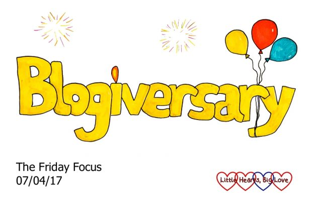 Blogiversary - this week's word of the week