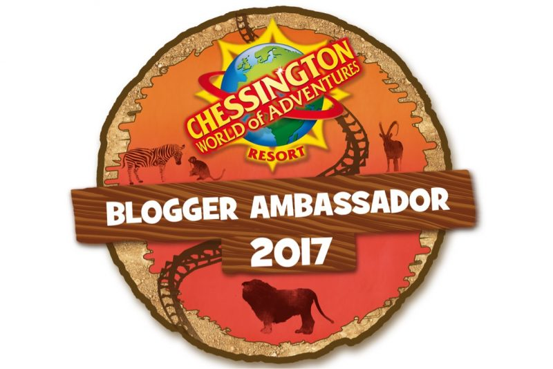 Chessington Blogger Ambassador 2017 badge