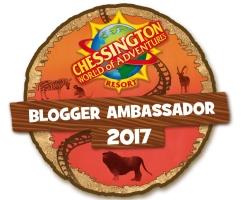 Chessington Blogger Ambassador 2017