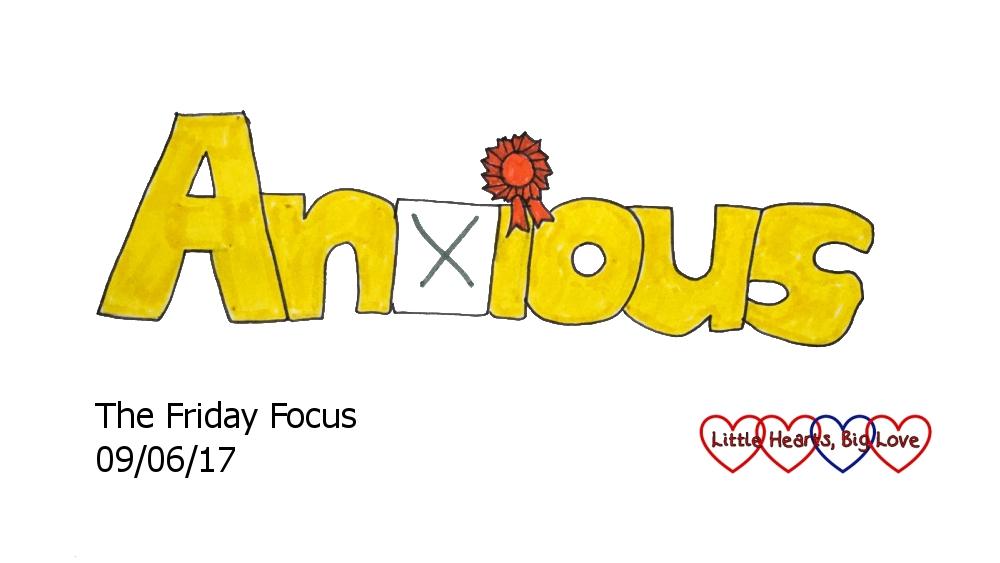 Anxious - this week's word of the week