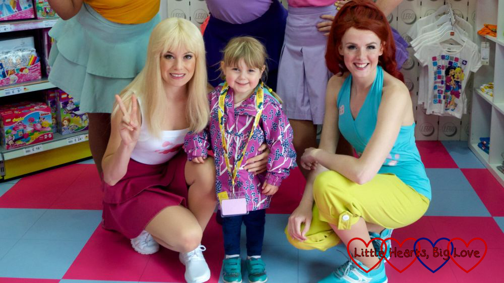 Sophie with the Lego Friends