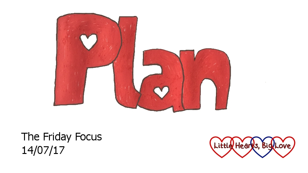 Plan - this week's word of the week