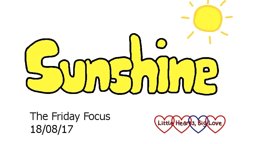 Sunshine - this week's word of the week