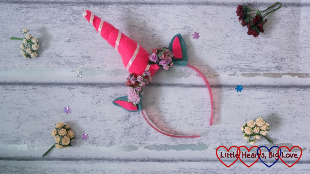 Unicorn horn crafts for adults and children