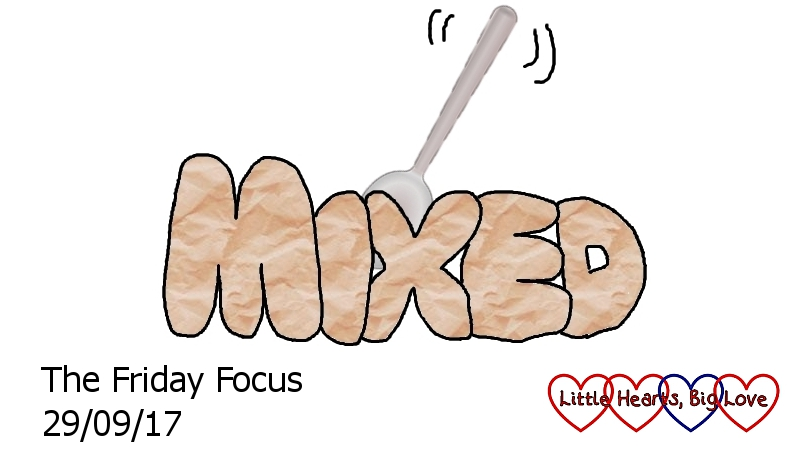 Mixed - this week's word of the week