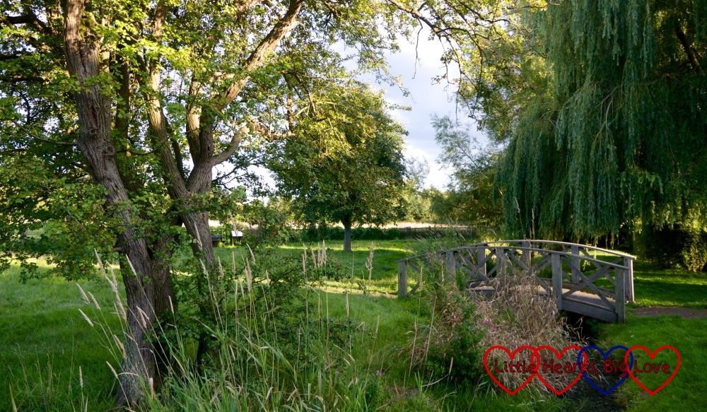 A bridge across the River Misbourne at Chalfont St Giles