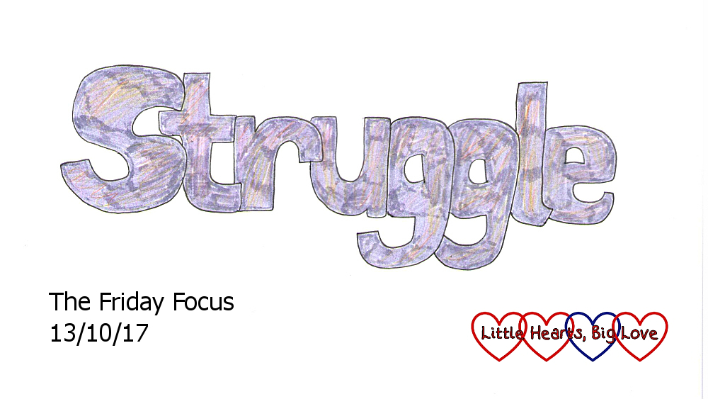 Struggle - this week's word of the week