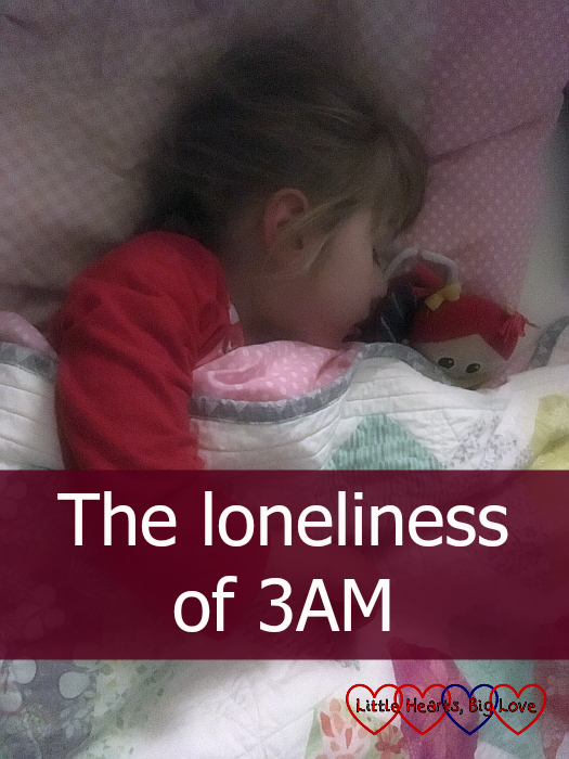 "Jessica asleep in her bed - ""The loneliness of 3AM"""