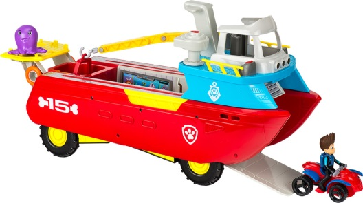 The PAW Patrol Sea Patroller