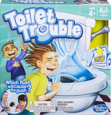 The Toilet Trouble game box