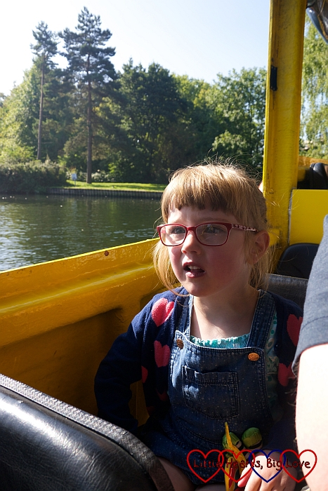 Jessica on the Duck Tour