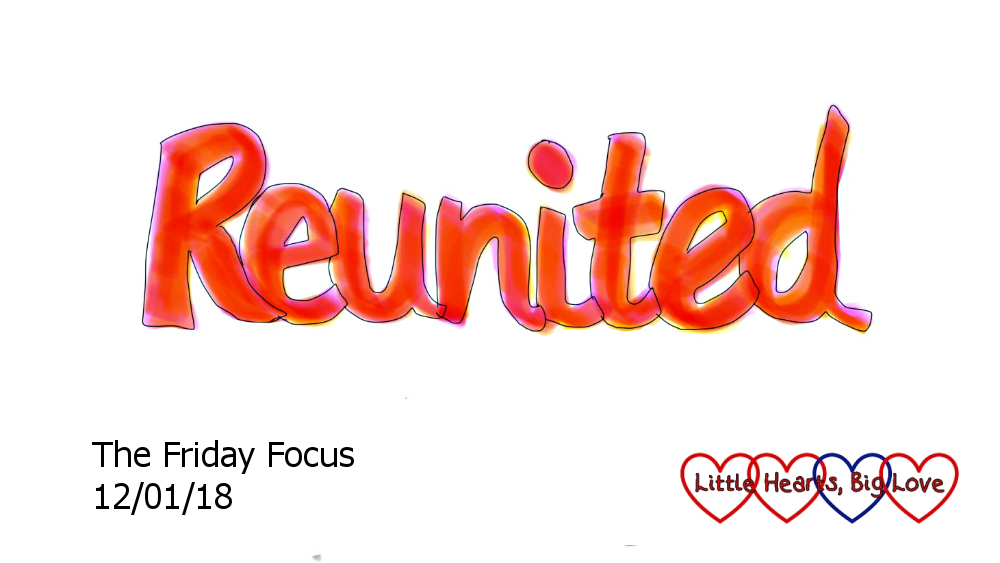 Reunited - this week's word of the week
