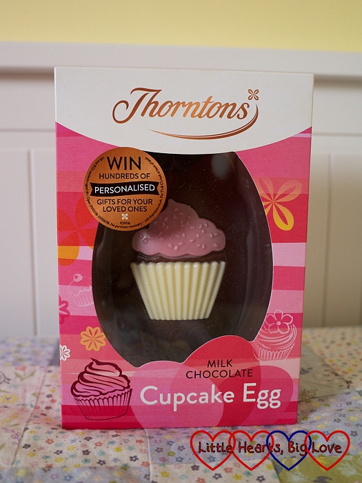 The Thorntons Chocolate Cupcake Egg