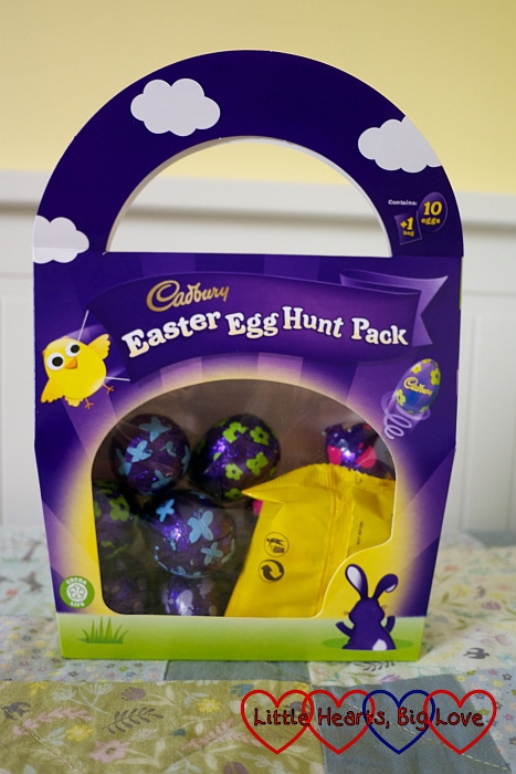 The Cadburys Easter Egg Hunt Pack