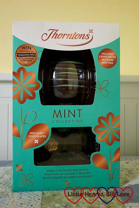 The Thorntons Classic Mint Chocolate Egg