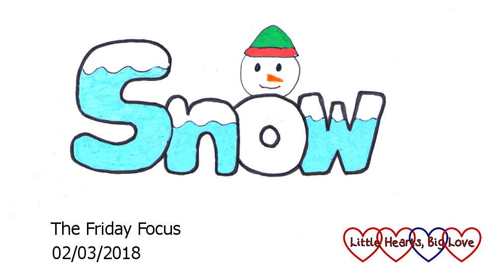 Snow - this week's word of the week