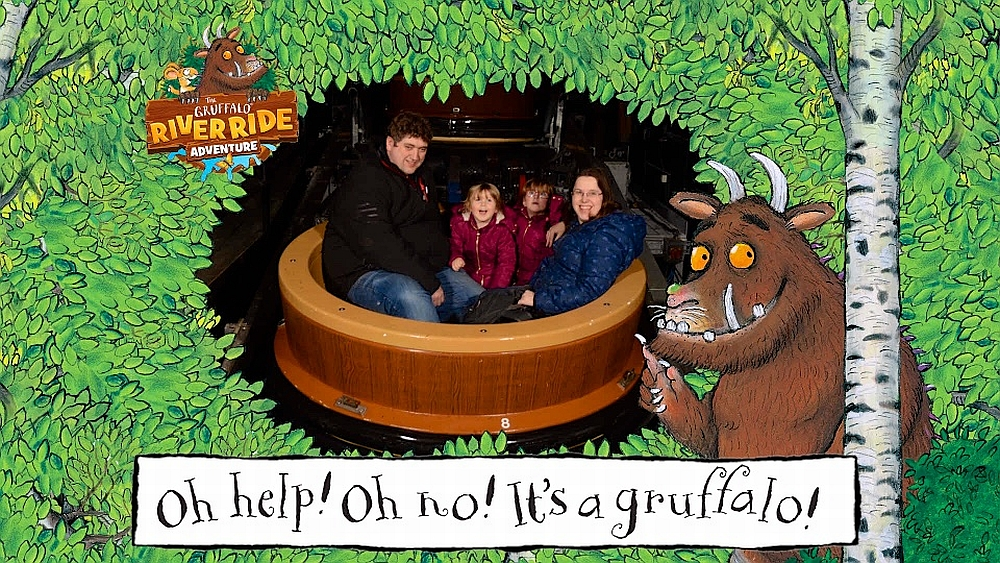 Our family photo from the Gruffalo River Ride Adventure