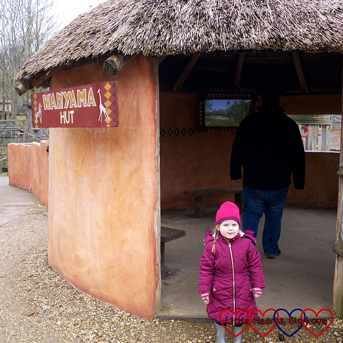 Sophie in the Wanyama Village and Reserve