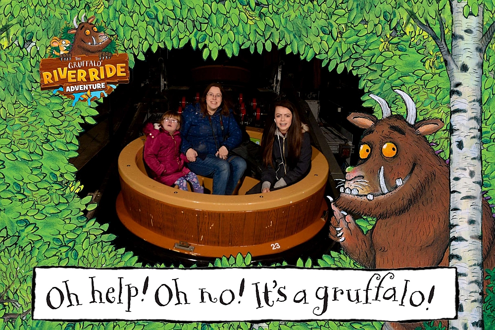 Me, Jessica and Ebony on the Gruffalo River Ride Adventure