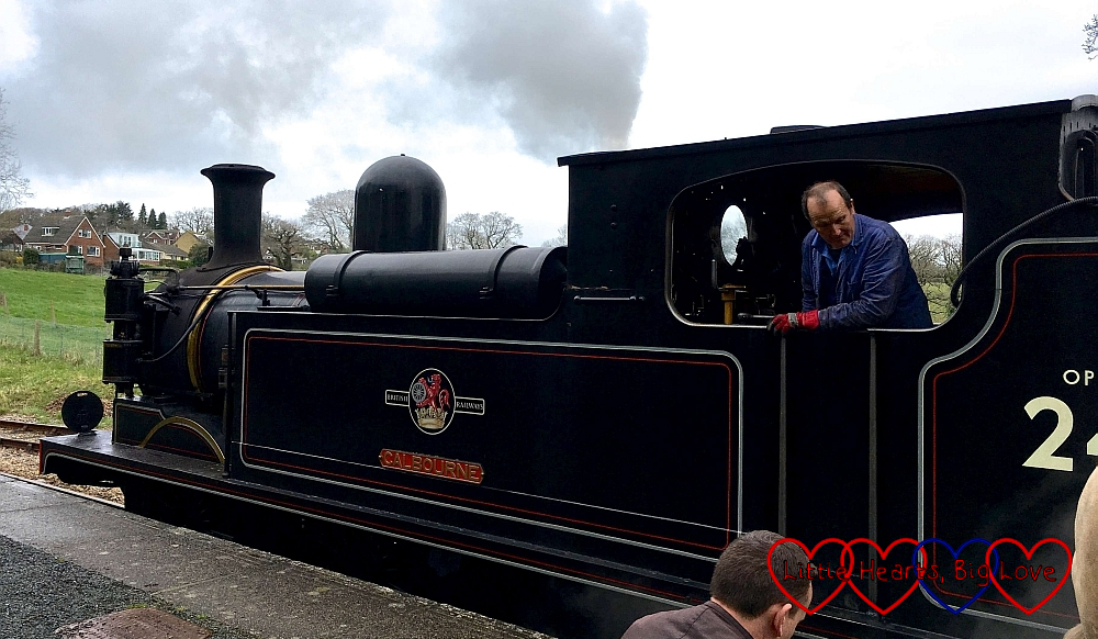 The steam train engine