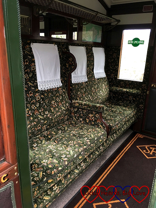 One of the first class carriages