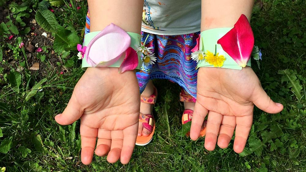 #30DaysWild – Simple nature bracelets