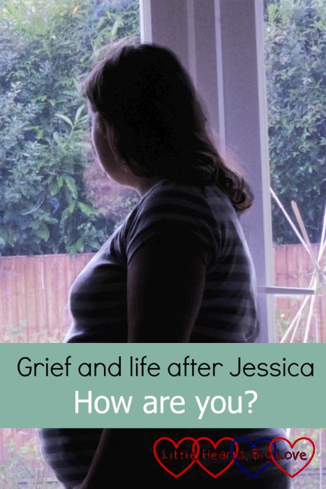 "Me in silhouette, looking out of the window - ""Grief and life after Jessica: How are you?"""