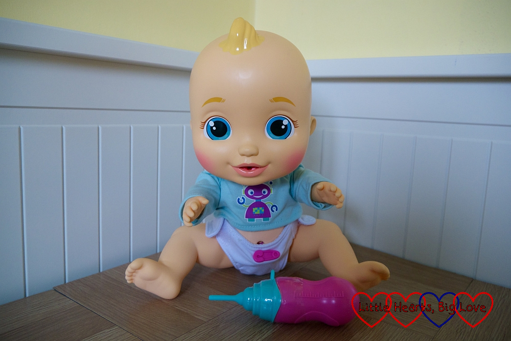 The Baby Wee Alex doll