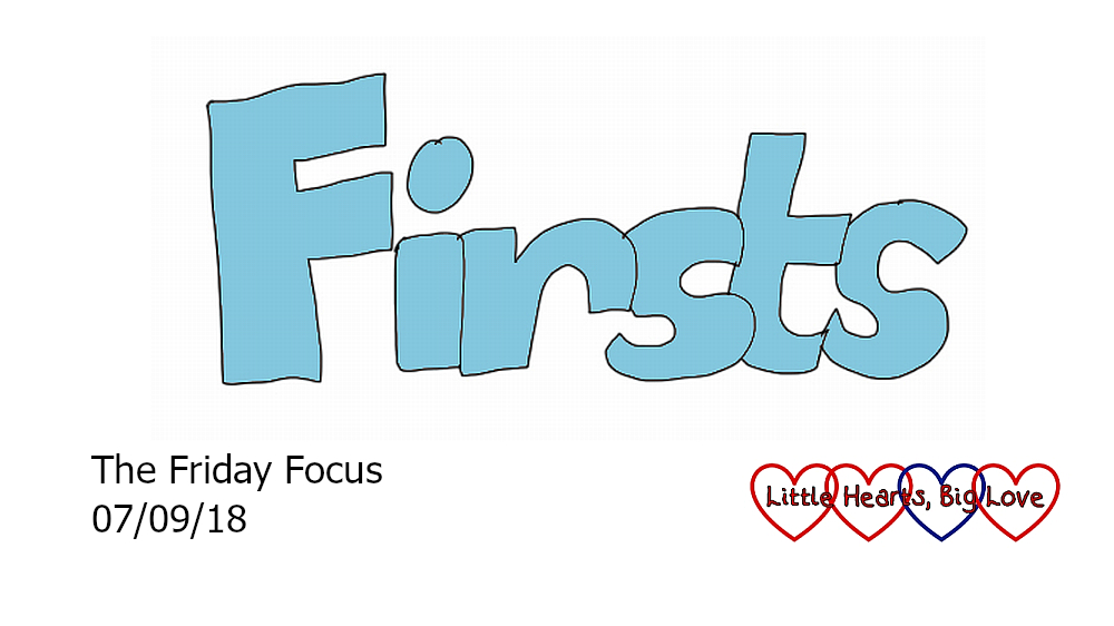 """Firsts"" - this week's word of the week"